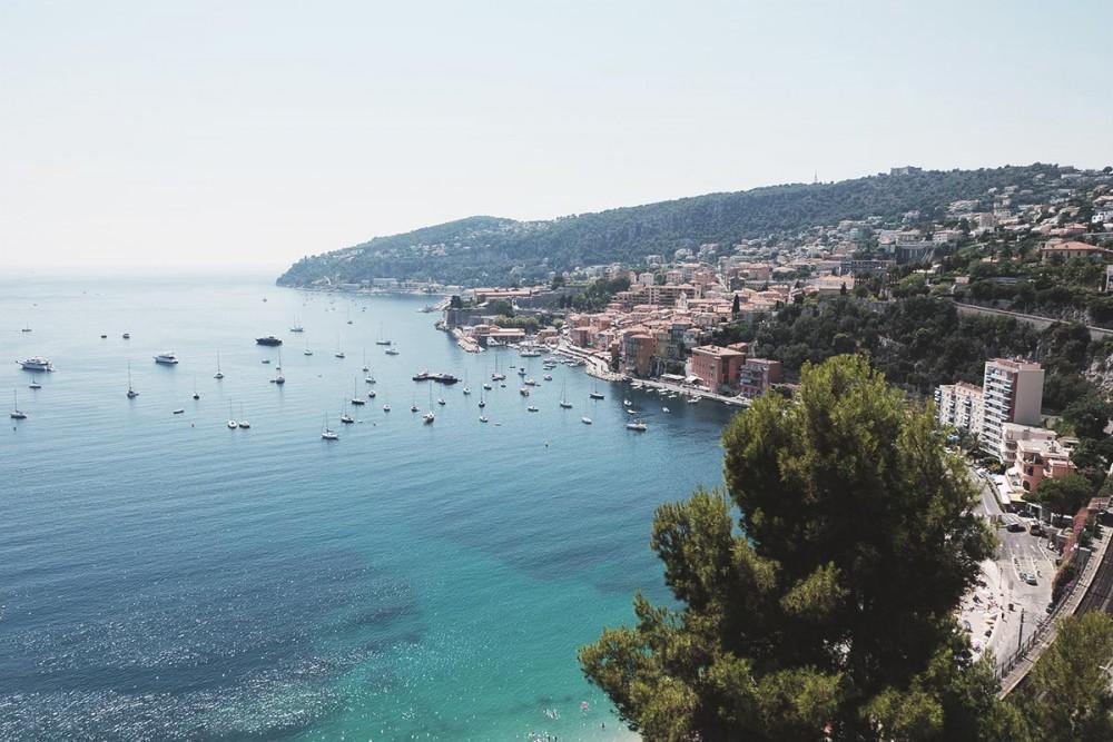 Les corniches de la Riviera, Villefranche-sur-Mer et Èze