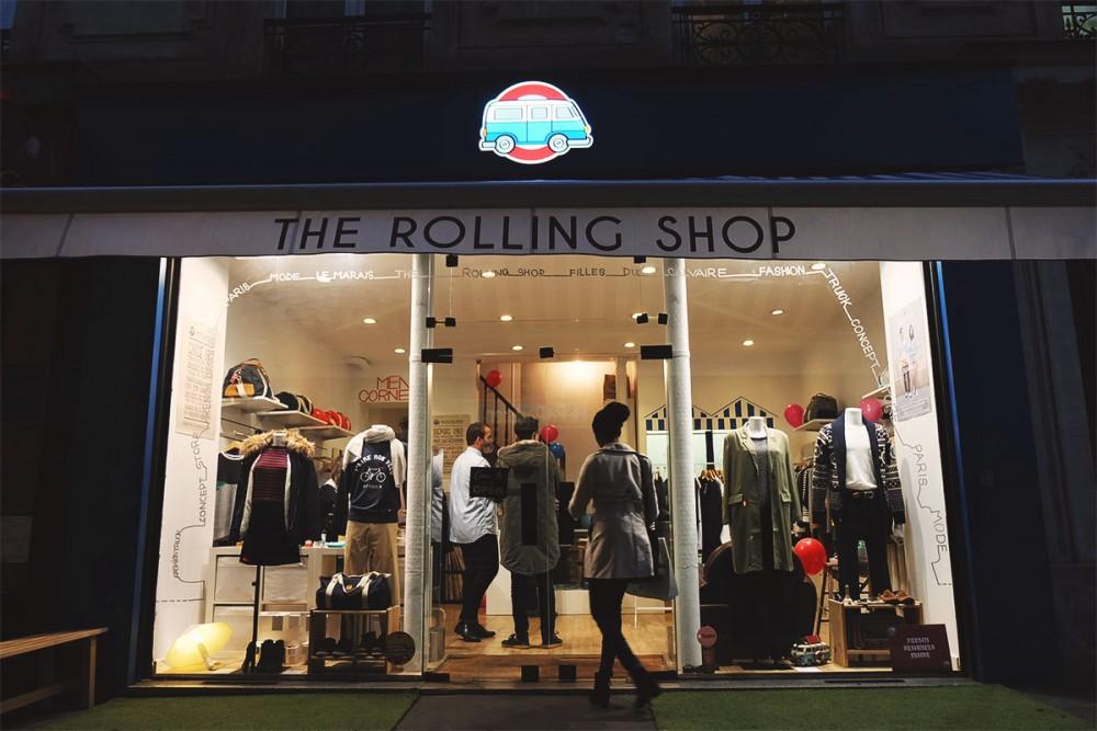 The Rolling Shop, le concept store des jeunes marques françaises