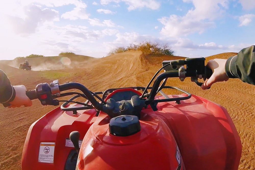 Vidéo | journée dromadaire et quad dans le désert d'Agafay – Marrakech 3/3