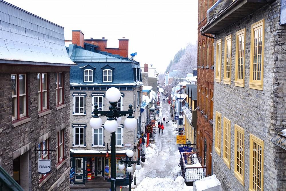 Québec City, un weekend dans la ville fortifiée