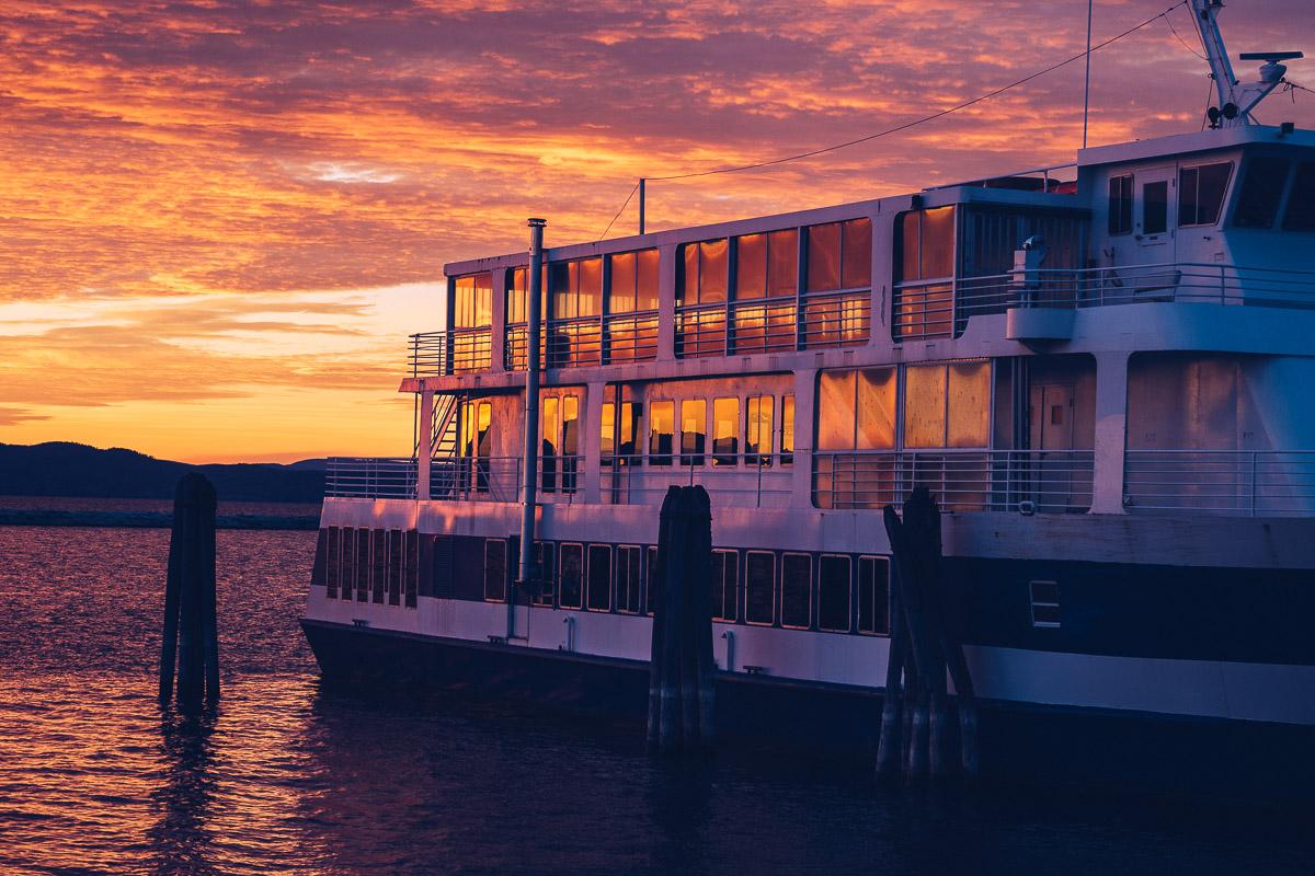 Refuse to hibernate Burlington couche de soleil Waterfront bateau