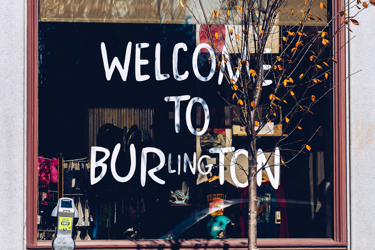 Refuse to hibernate welcome to Burlington vitrine Burton