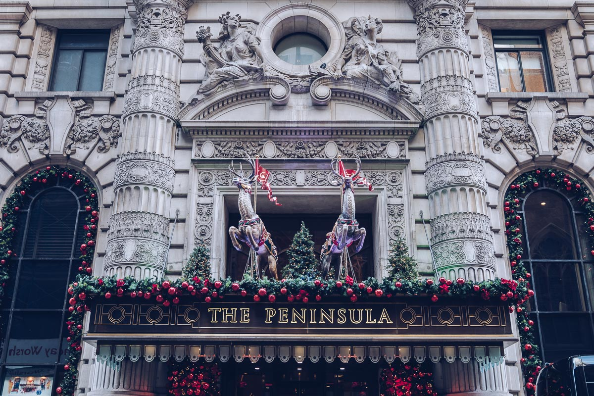 refuse to hibernate new york peninsula hotel noel