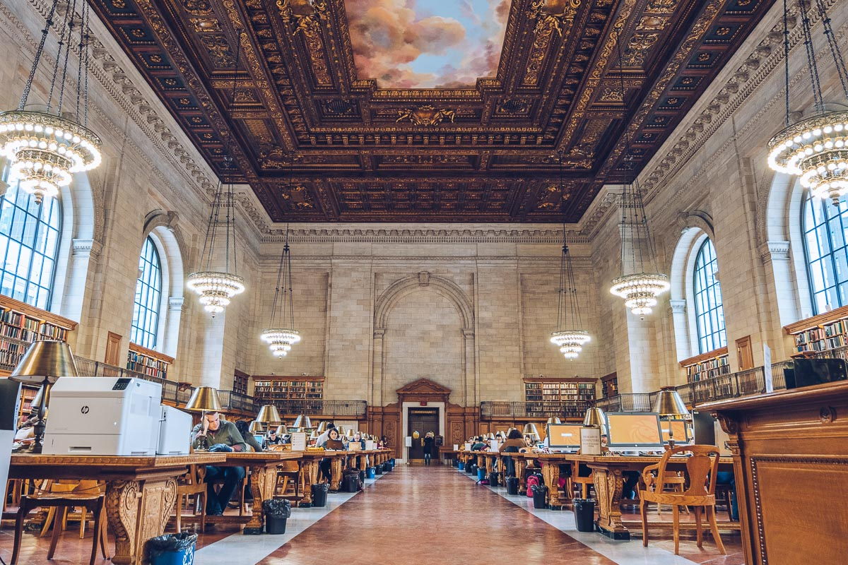 refuse to hibernate new york public library salle de lecture