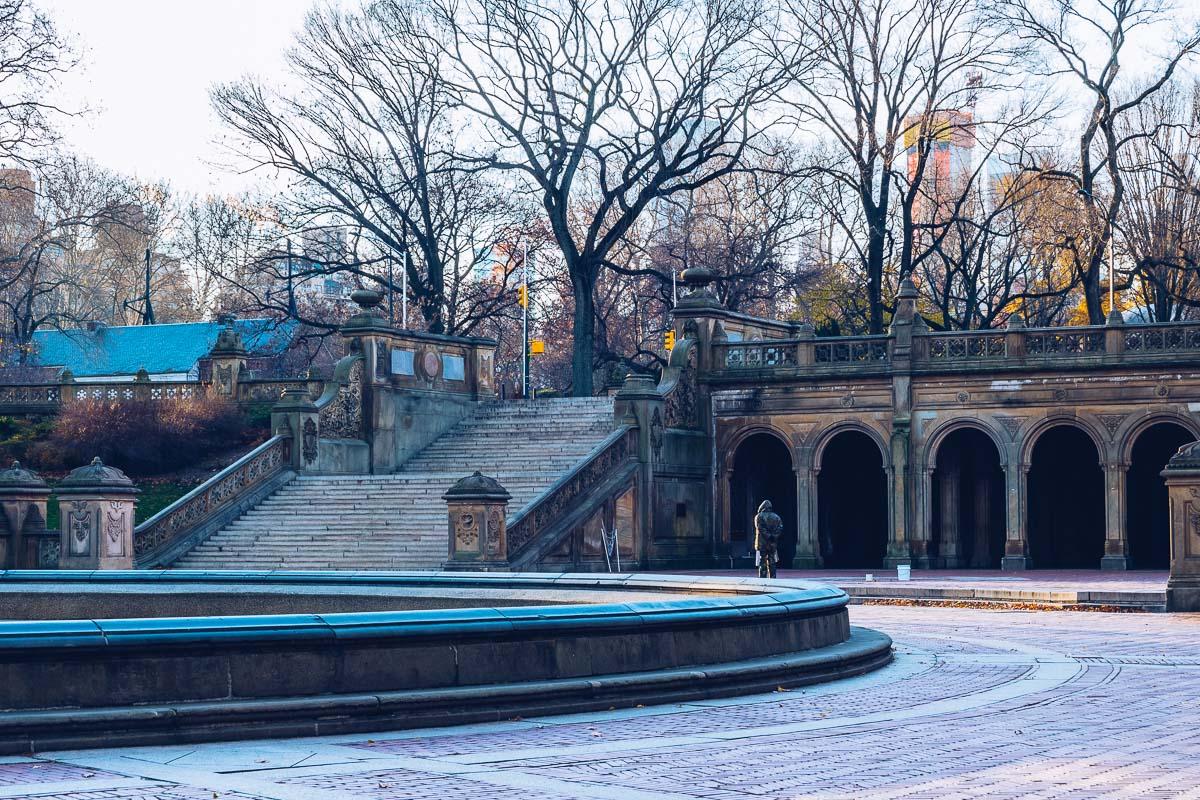refuse to hibernate new york fontaine bethesda