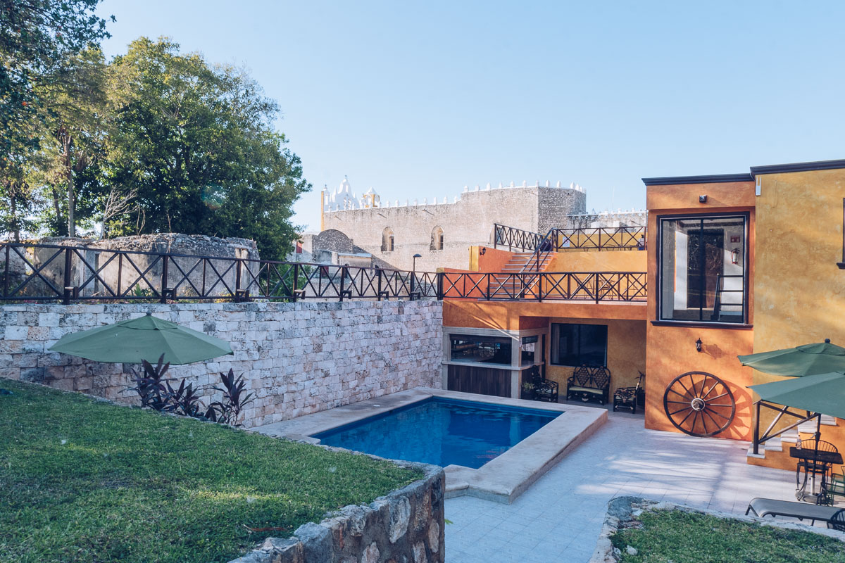 Refuse to hibernate yucatan izamal hotel rinconada del convento