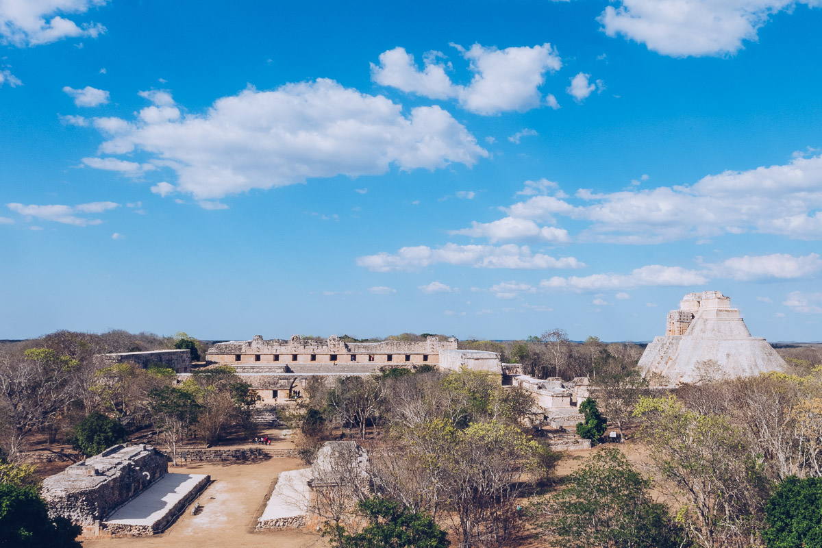 Refuse to hibernate yucatan uxmal site archeologique