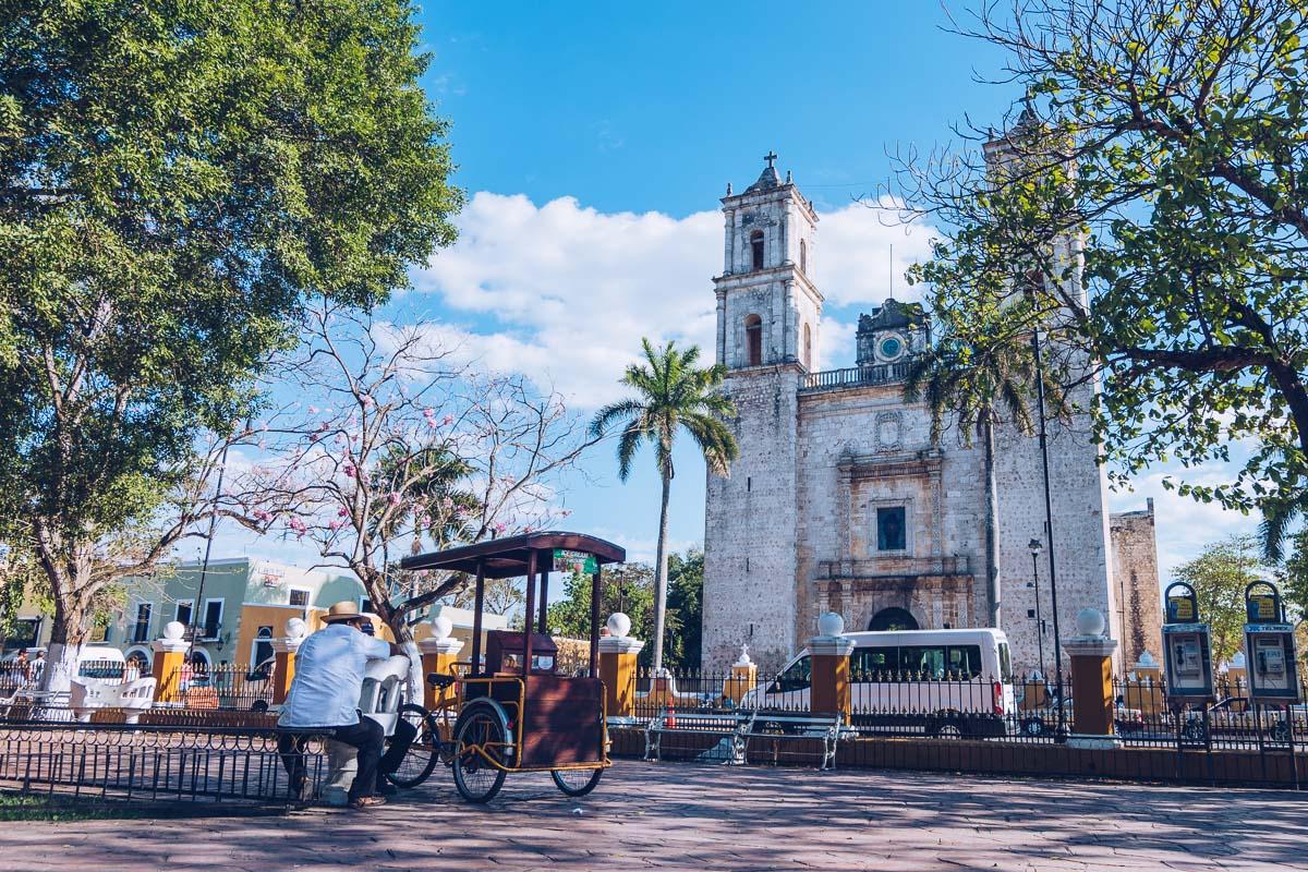 Refuse to hibernate yucatan valladolid cathedral san gervasio