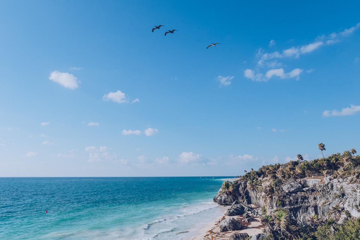 Refuse to hibernate tulum plage ruines