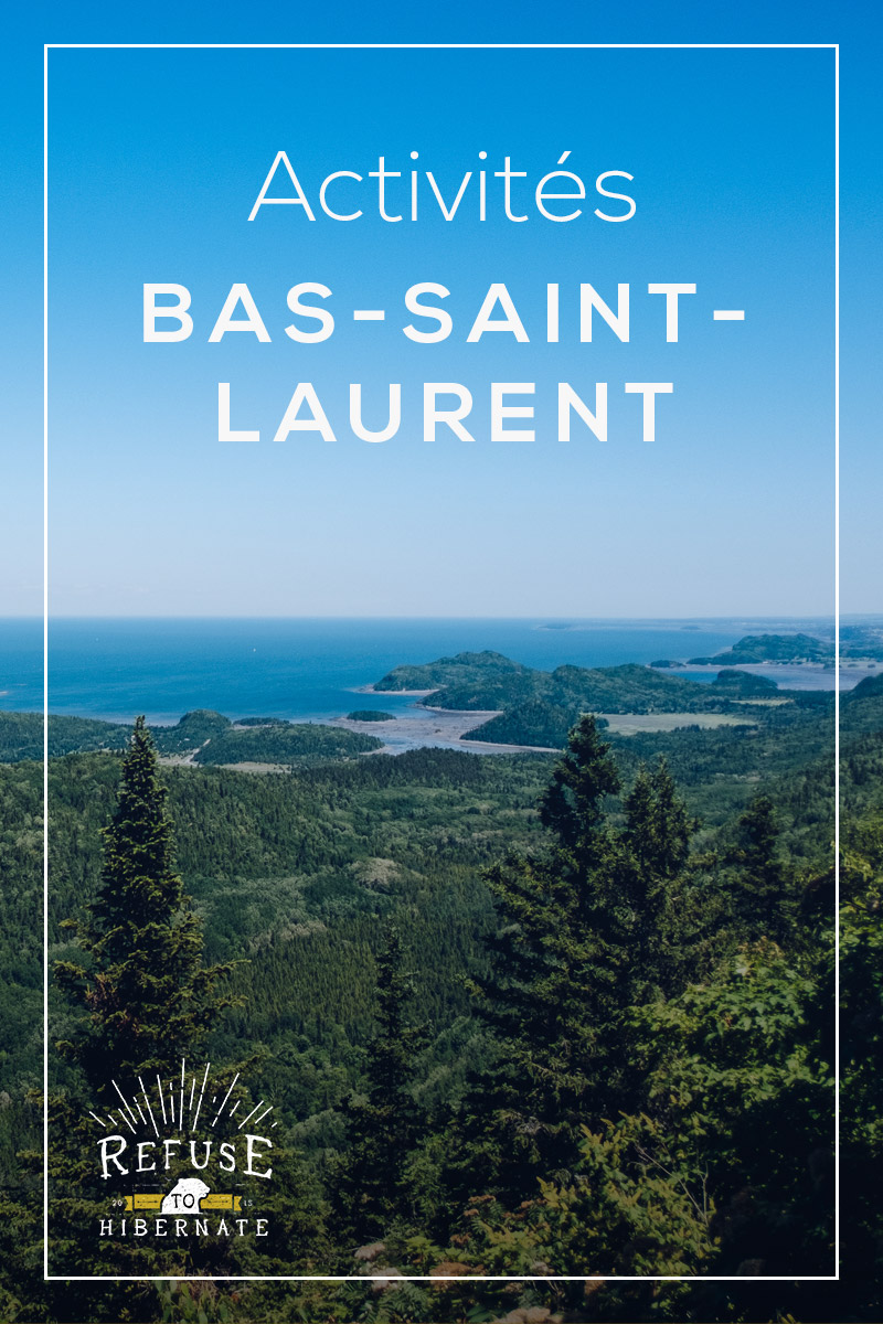 Refuse to hibernate bas saint laurent