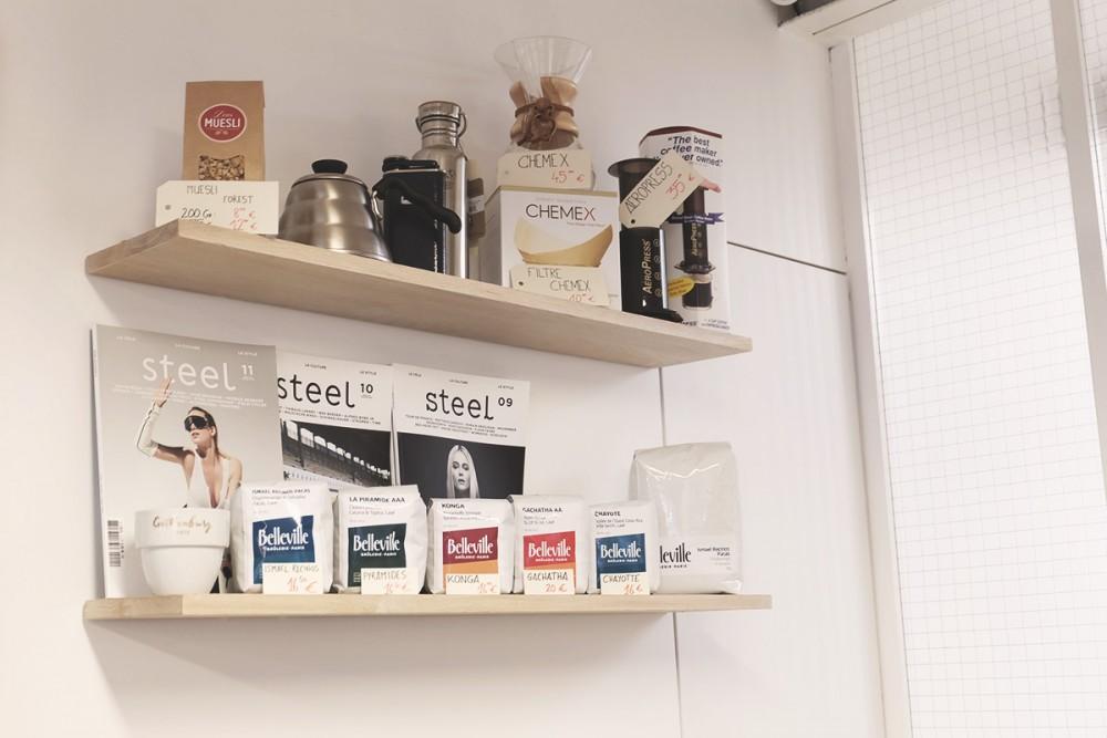 Le vélo, la culture et le «Steel» Cyclewear & Coffeeshop