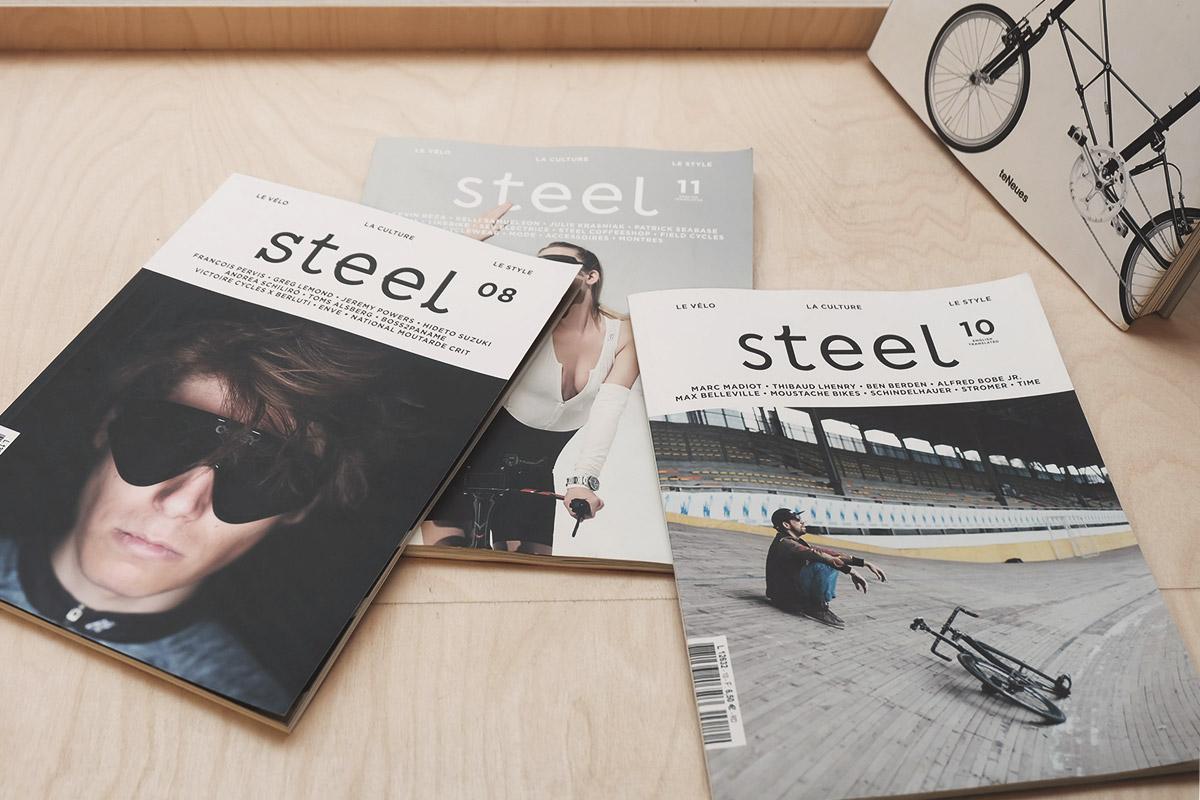 Steel Cyclewear & Coffeshop magazine Steel Refuse to hibernate