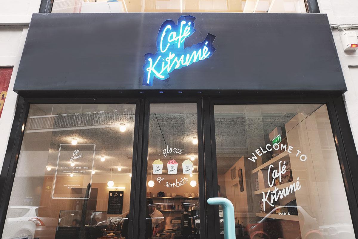 Cafe Kitsune devanture Refuse to hibernate