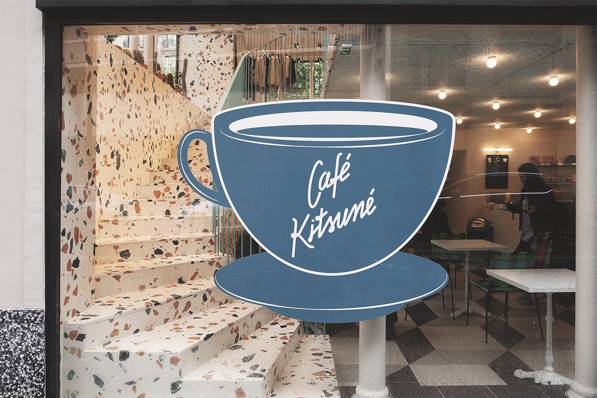 Cafe Kitsune escalier de marbre Refuse to hibernate