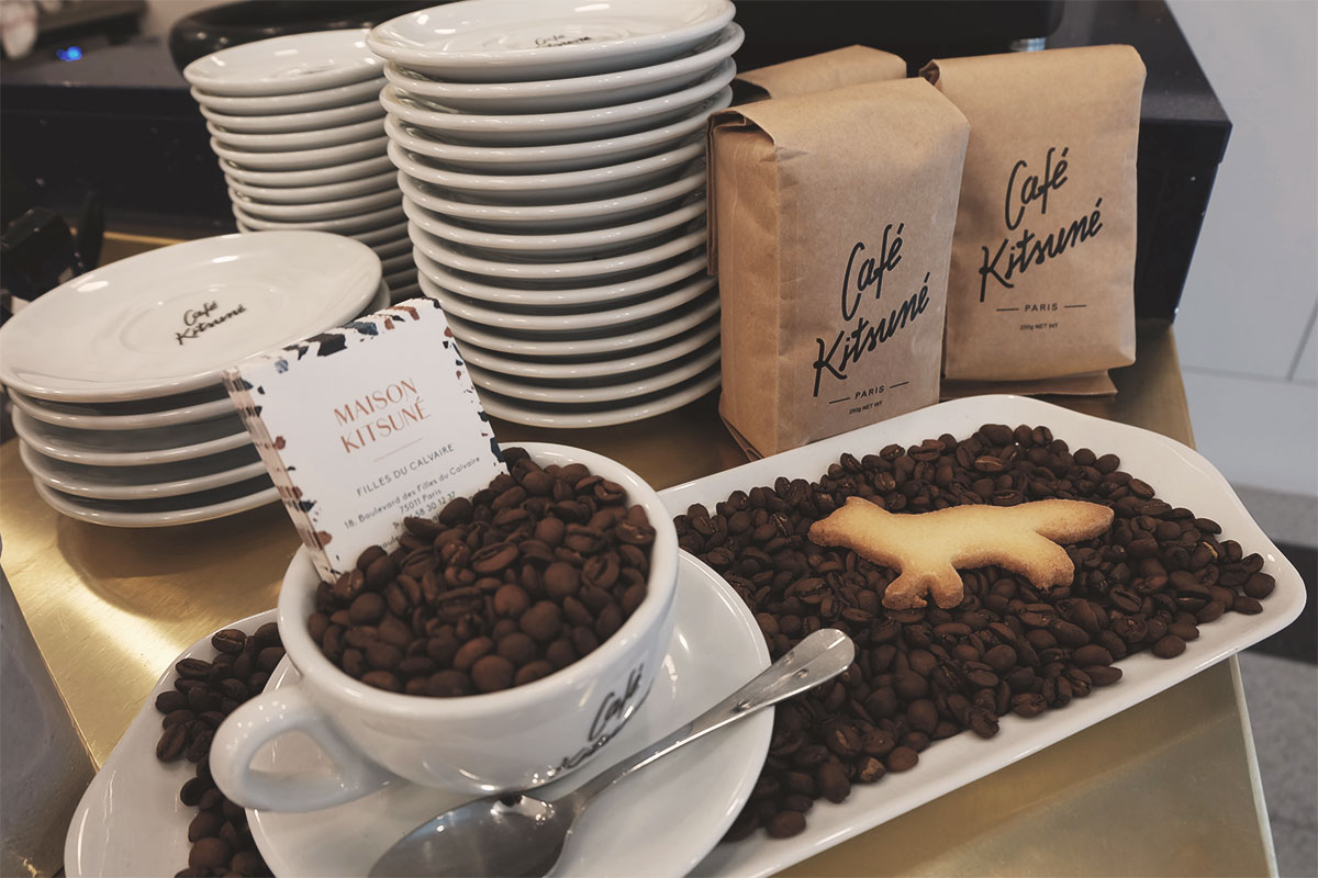 Cafe Kitsune presentation cafe Refuse to hibernate