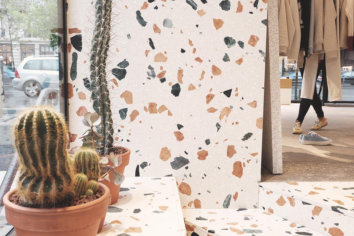 Cafe Kitsunes shop marbre et cactus Refuse to hibernate