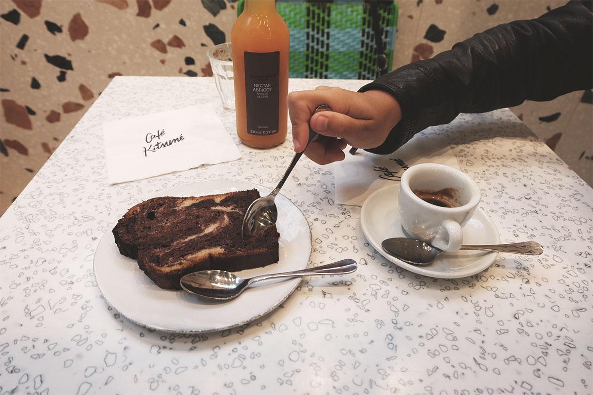 Cafe Kitsune cafe et gateau Refuse to hibernate
