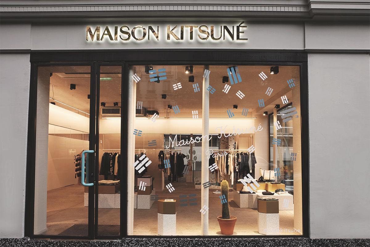 Cafe Kitsune Maison Kitsune shop Refuse to hibernate
