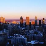 Refuse to hibernate Montréal en hiver vue depuis le Mont Royal