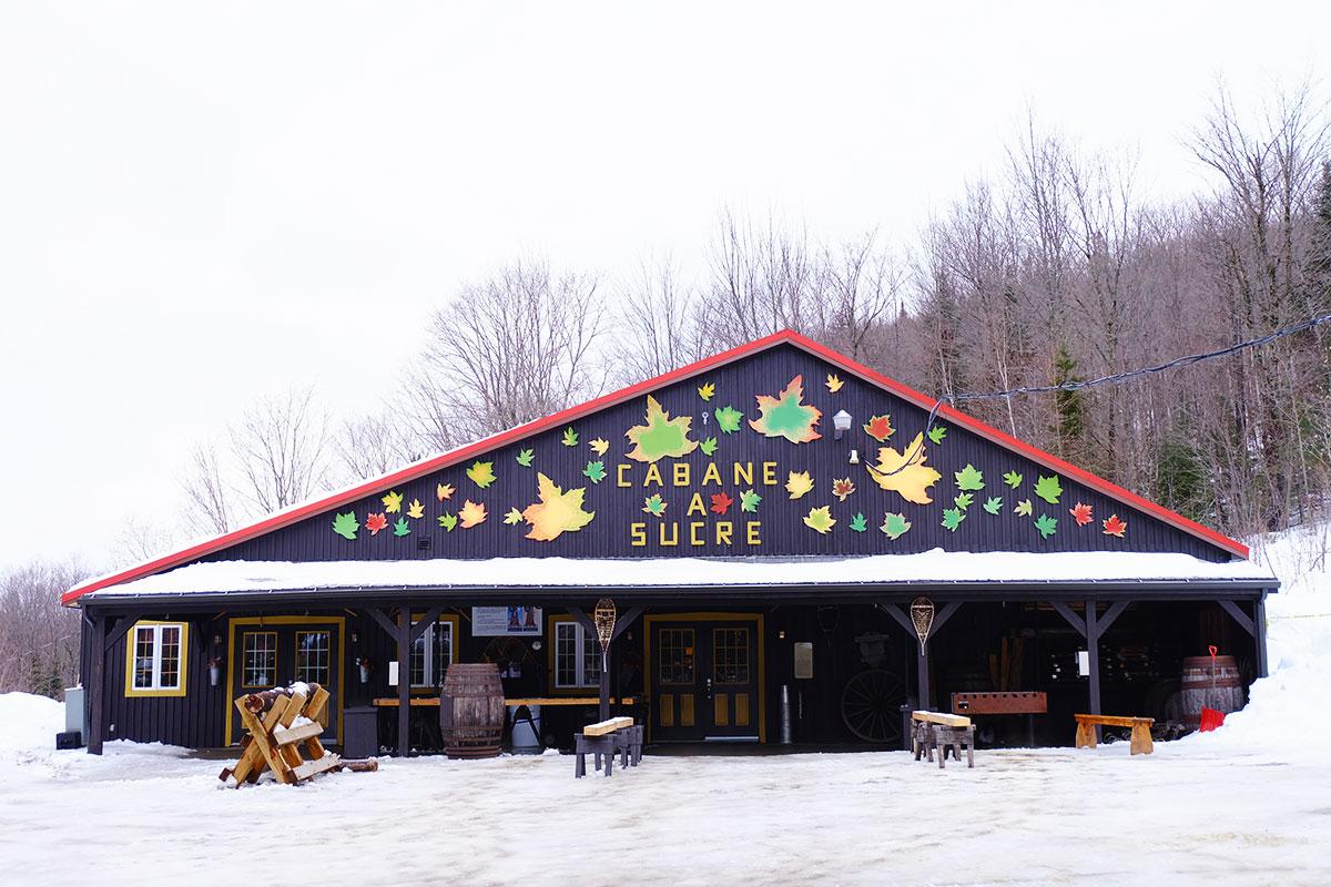 Refuse to hibernate Québec l'Érablière du lac Beauport