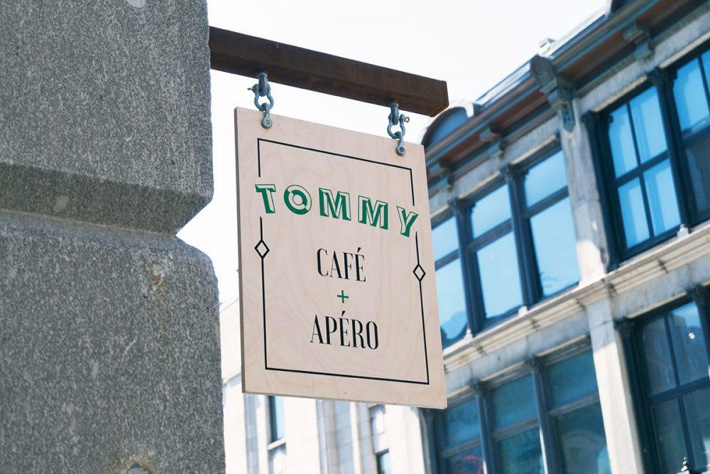 Montréal, bruncher au Tommy café