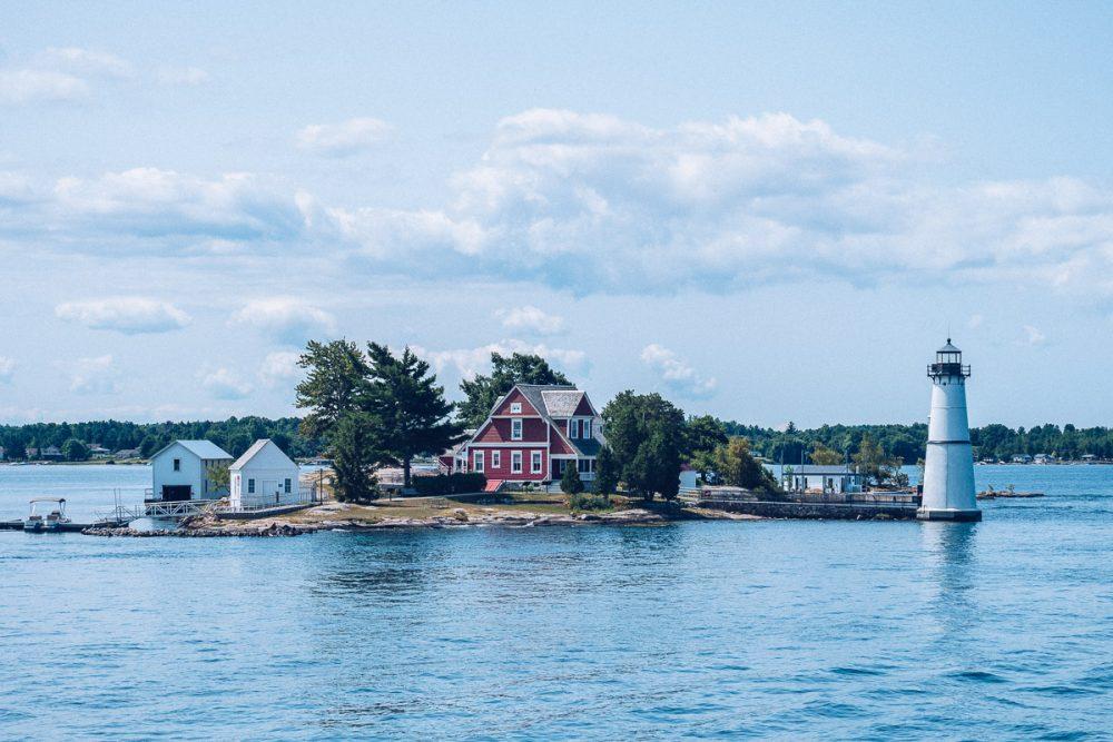 Ontario, croisière dans l'archipel des Mille-Îles