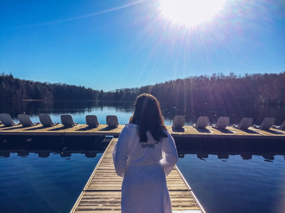 refuse to hibernate bromont balnea spa audrey sur ponton lac gale
