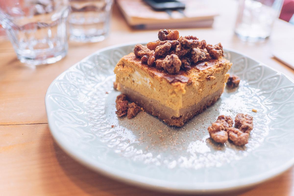 Refuse to hibernate Venice MTL cheesecake citrouille