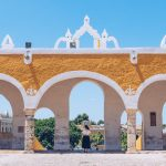 Refuse to hibernate izamal Convento vue sur la ville avec Audrey