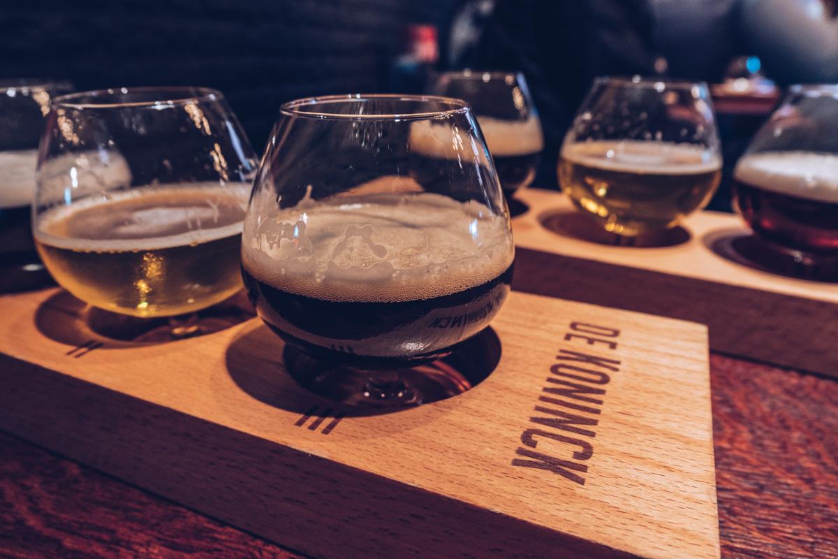 Refuse to hibernate Anvers brasserie de koninck degustation