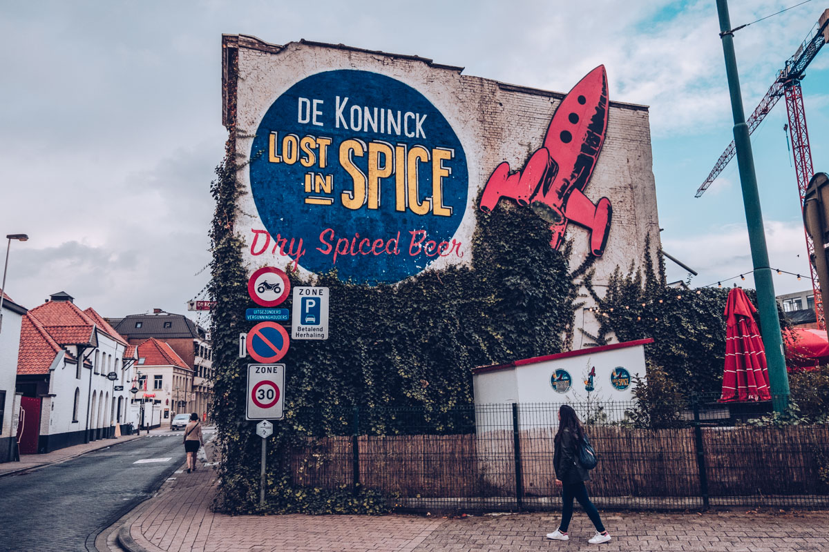 Refuse to hibernate Anvers brasserie de koninck street art