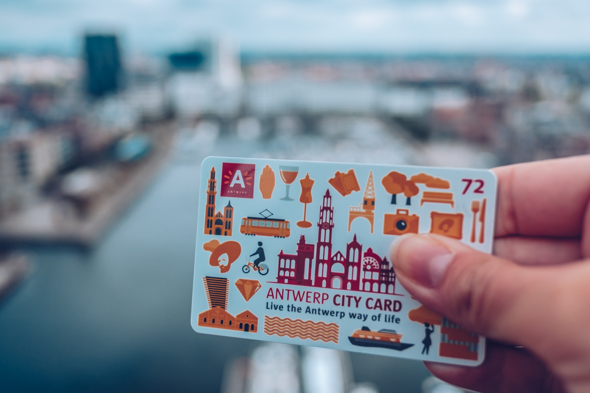 Refuse to hibernate Anvers city card 72h