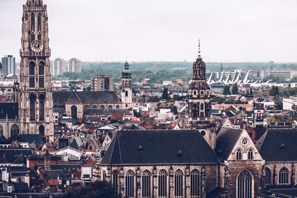 Refuse to hibernate Anvers mas vue sur la ville