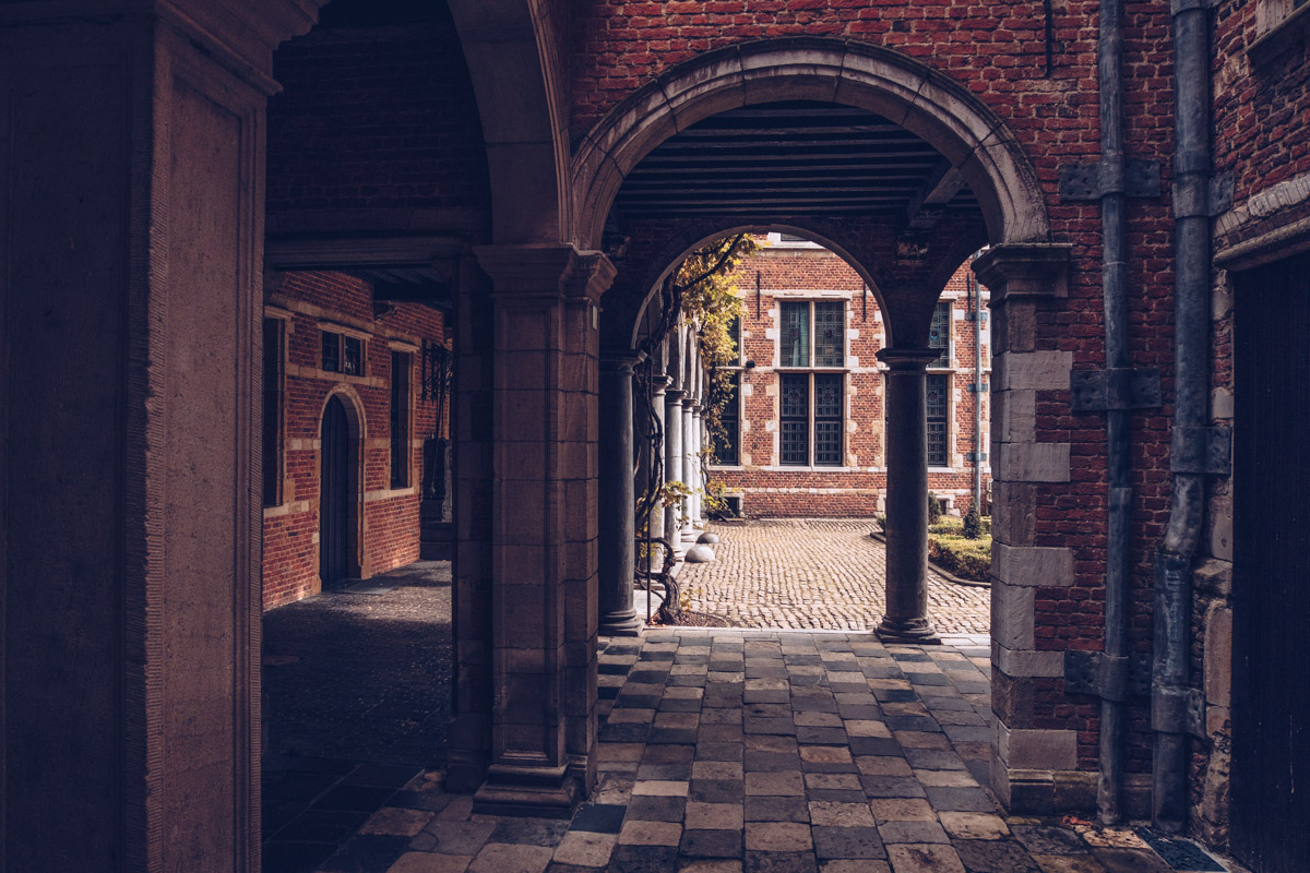 Refuse to hibernate Anvers musee plantin moretus arcs en pierre