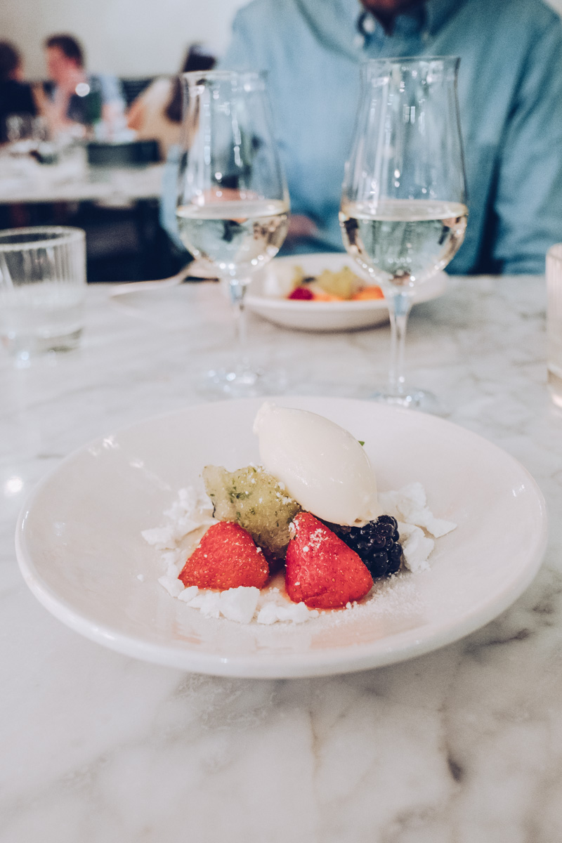 Refuse to hibernate Anvers restaurant graanmarkt 13 dessert