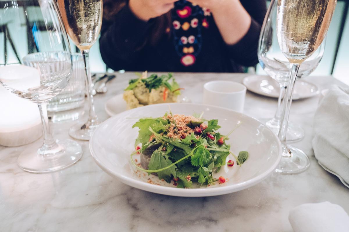 Refuse to hibernate Anvers restaurant graanmarkt 13 mise en bouche