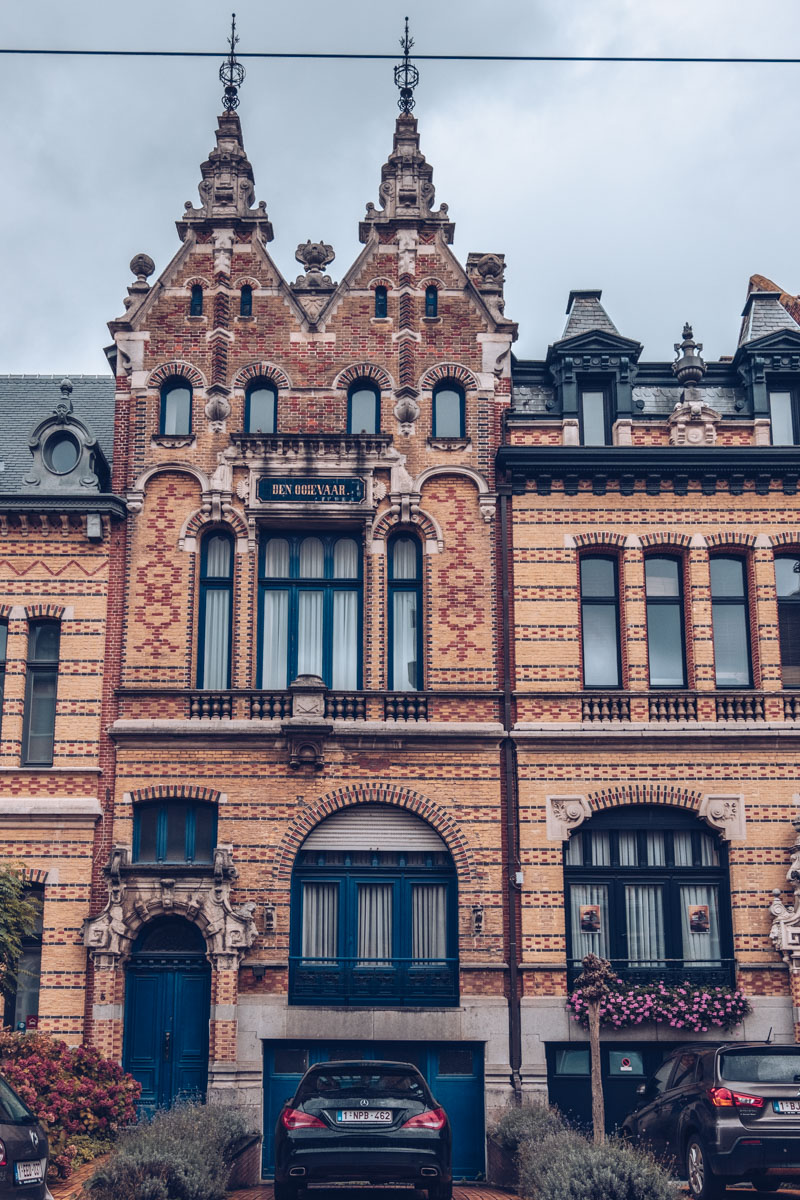 Refuse to hibernate Anvers zurenborg maison en briques
