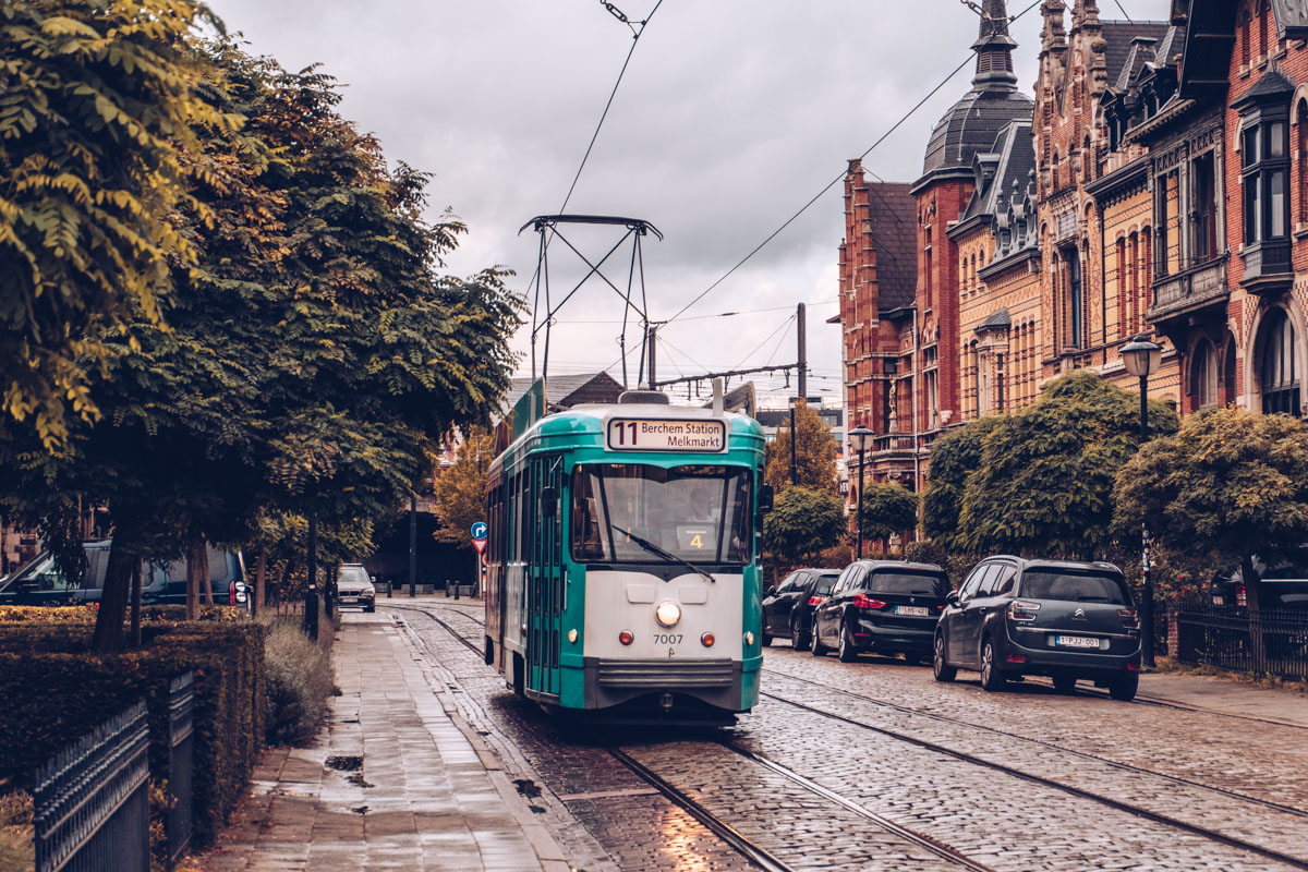 Refuse to hibernate Anvers zurenborg tram
