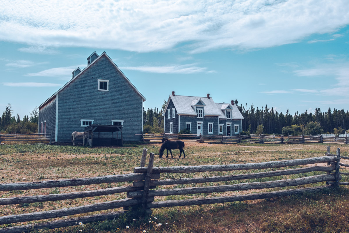 Refuse to hibernate nouveau-brunswick caraquet village historique acadien maison