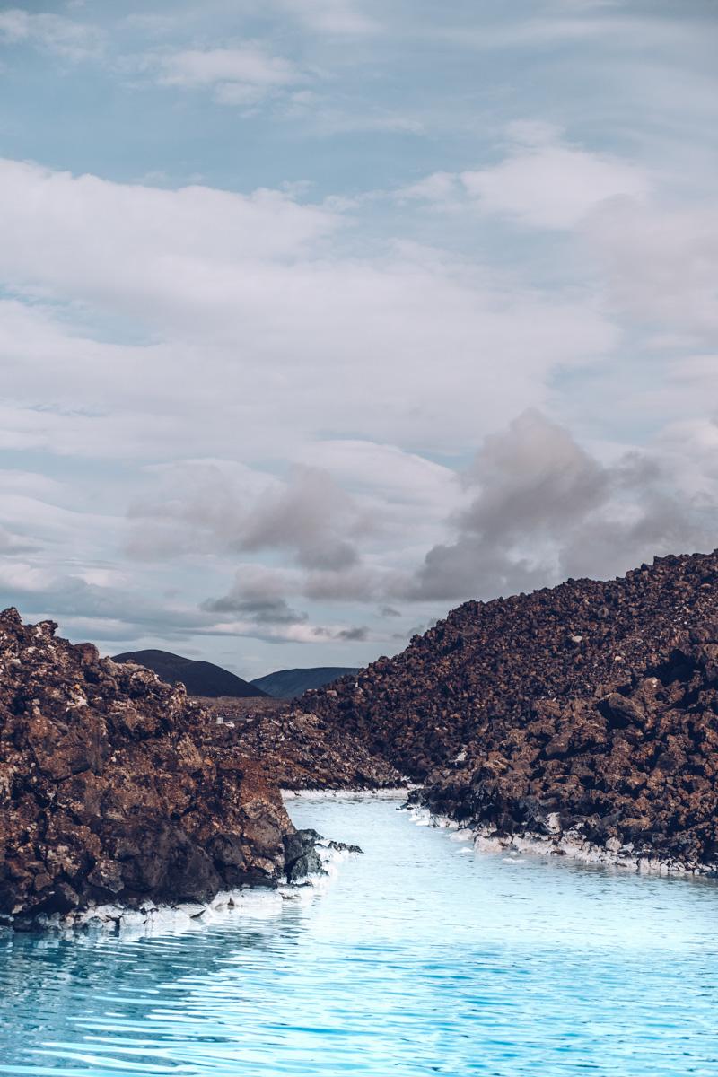 Refuse to hibernate islande blue lagoon eau turquoise