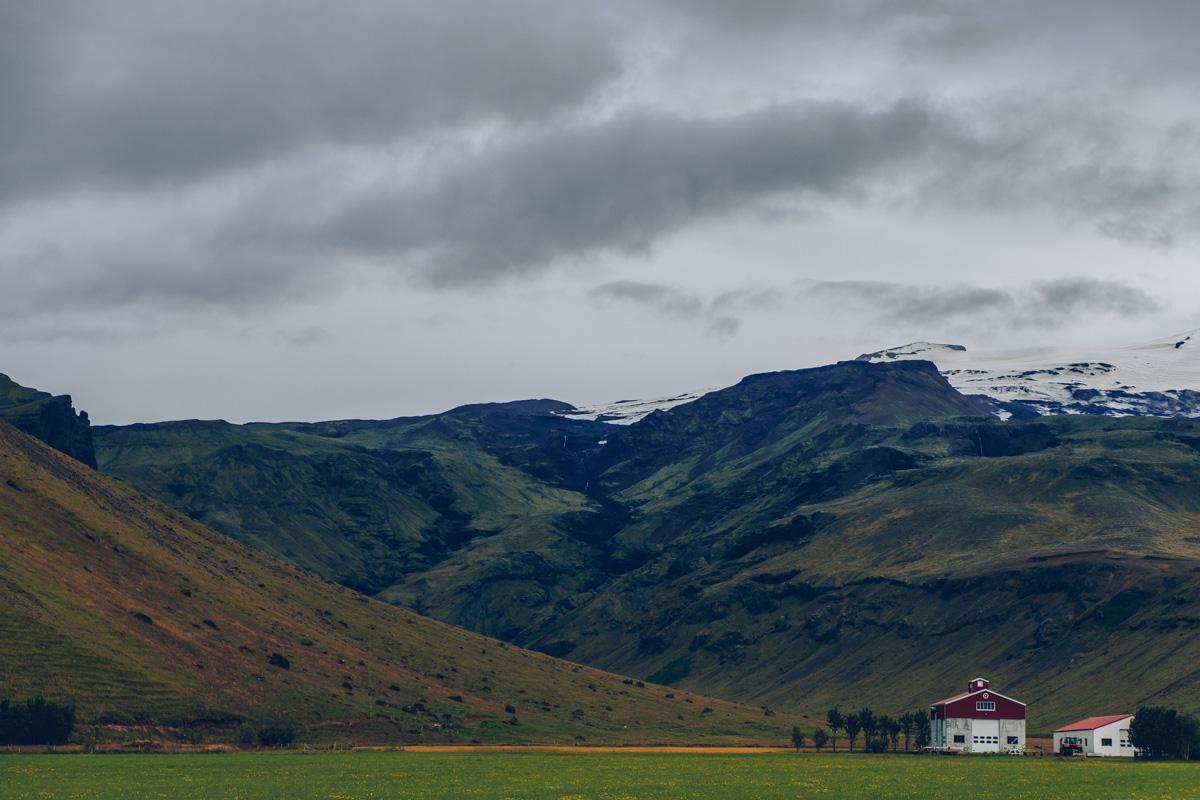 Refuse to hibernate islande eyjafjallajokull