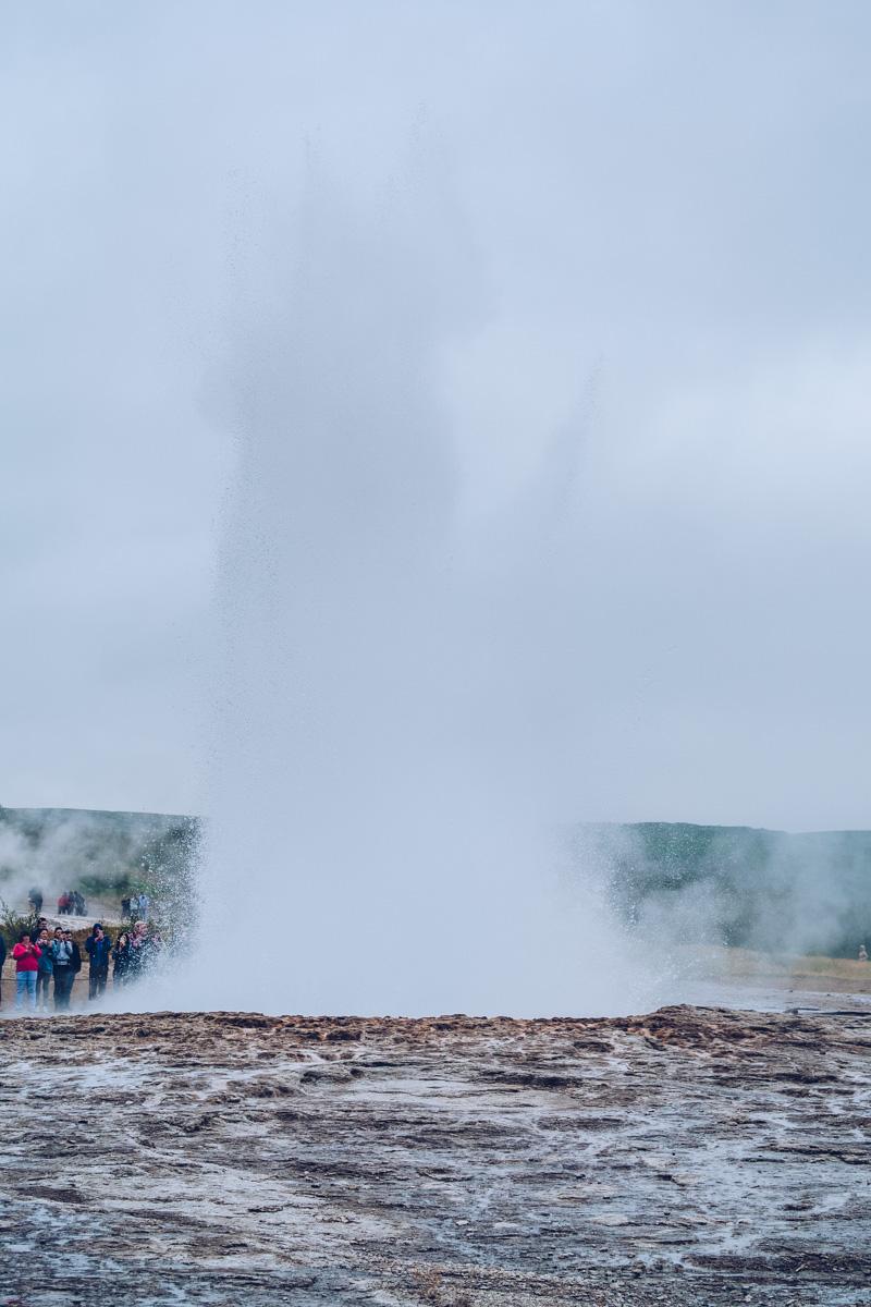 Refuse to hibernate islande geysir geyser