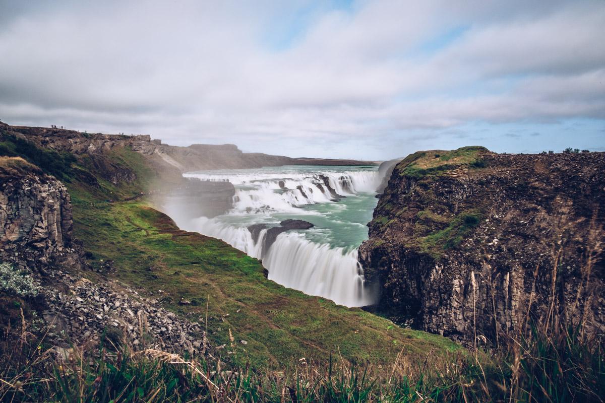 Refuse to hibernate islande gullfoss chutes
