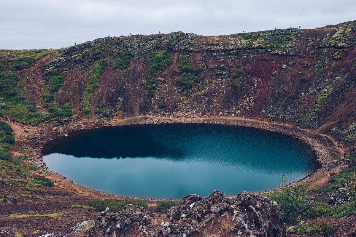 Refuse to hibernate islande kerio cratere
