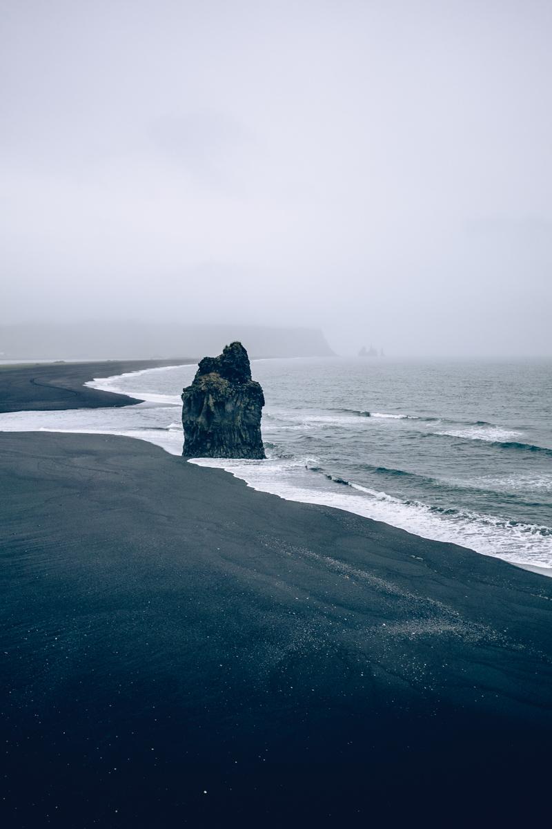 Refuse to hibernate islande plage dyrholaey