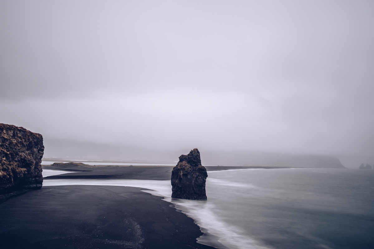 Refuse to hibernate islande plage dyrholaey pause longue