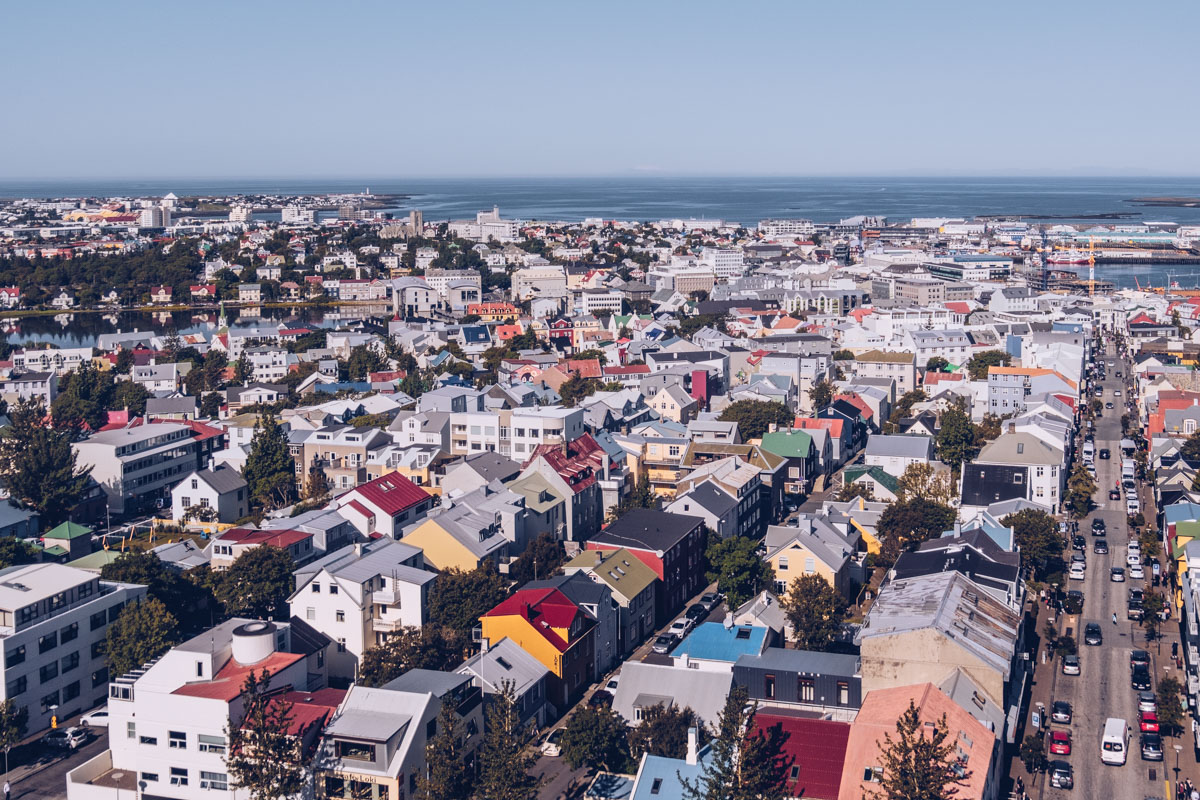Refuse to hibernate islande reykjavik vue hallgrimur