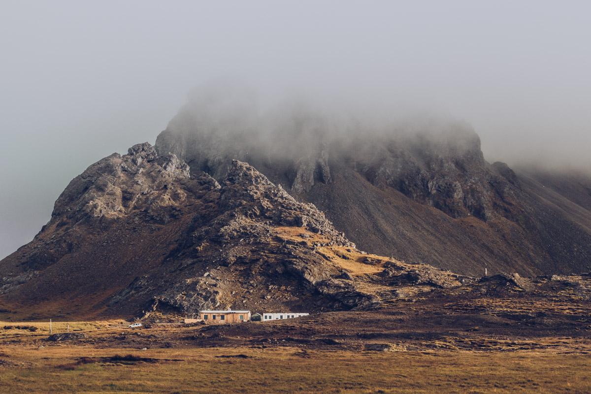Refuse to hibernate islande stokksness montagne