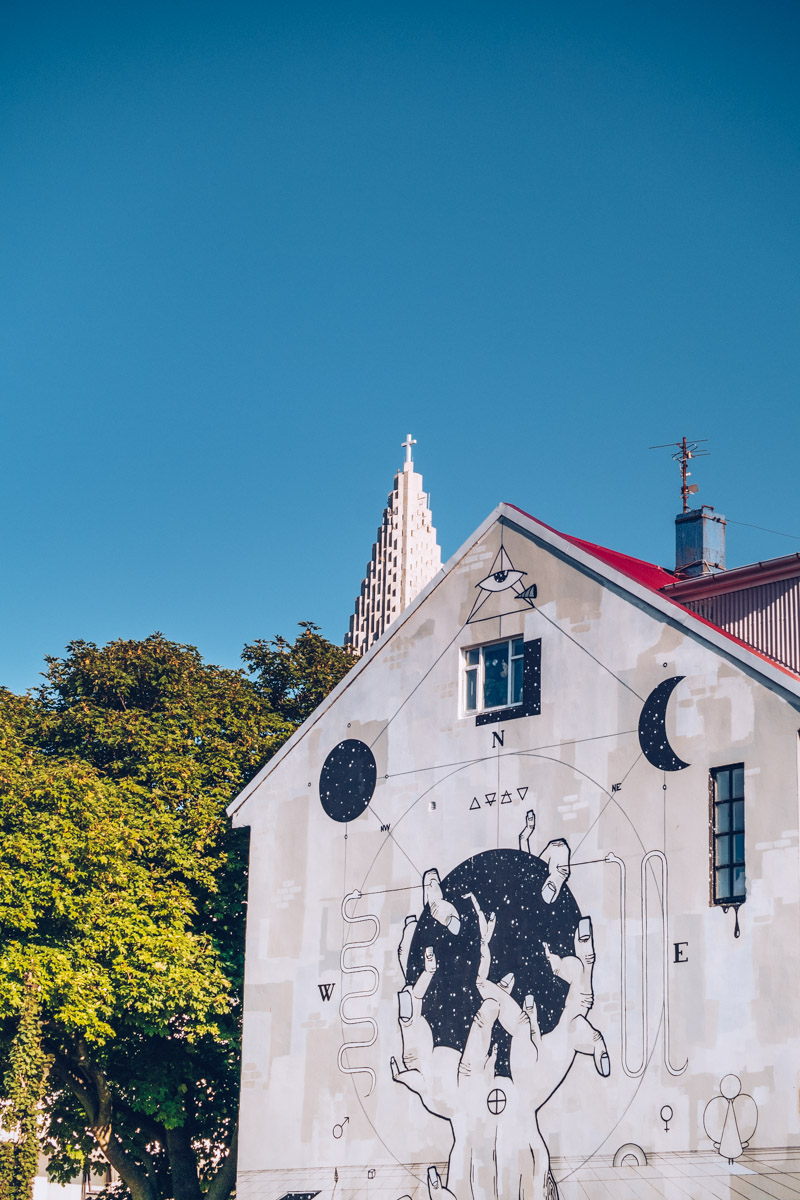 Refuse to hibernate reykjavik street art