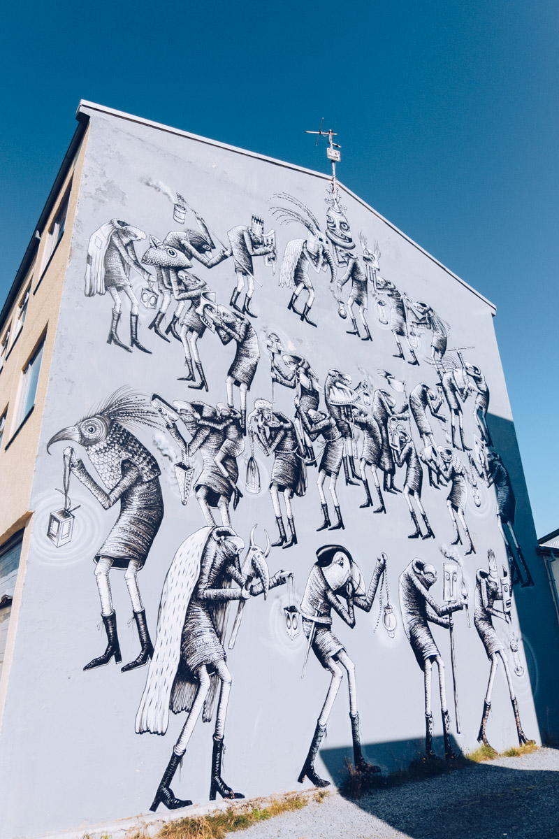 Refuse to hibernate reykjavik street art phlegm mum the band